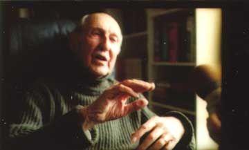 Pierre Dansereau — Source: RÉSEAU Magazine de l'Université du Québec «Portrait» par Paule Lebrun Printemps 2003