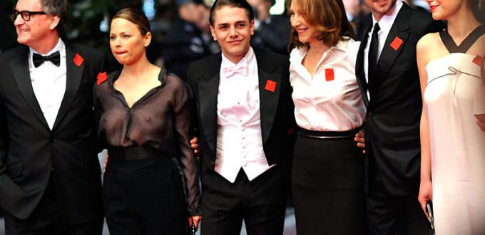 Ils arborent le carré rouge à Cannes!