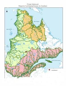 Le Québec avec Matoush proche du partage des eaux