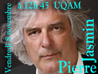 Concert Pierre Jasmin UQAM