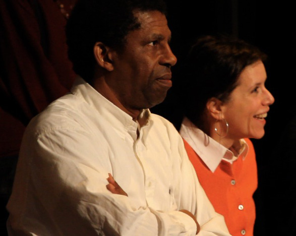 Dany Laferrière et Pascale Montpetit