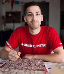 Aquil Virani, artiste graphiste