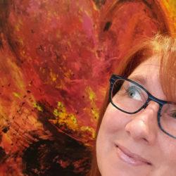 Line Gianetti, artiste peintre
