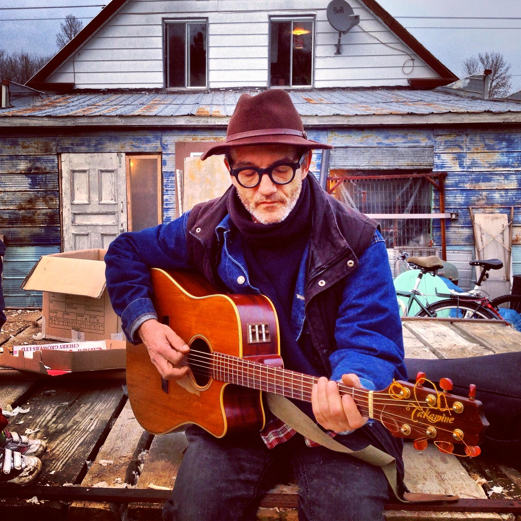 Serge Lavoie 'Jos Guitare' Photo: Marie-Josée Lemieux