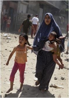 Gaza, juillet 2014; où fuir ?