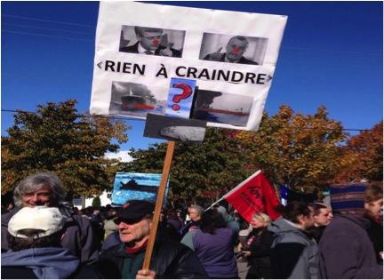 Une affiche d'Yvon Rivard, co-auteur du Prix du fleuve : http://artistespourlapaix.org/?p=5542