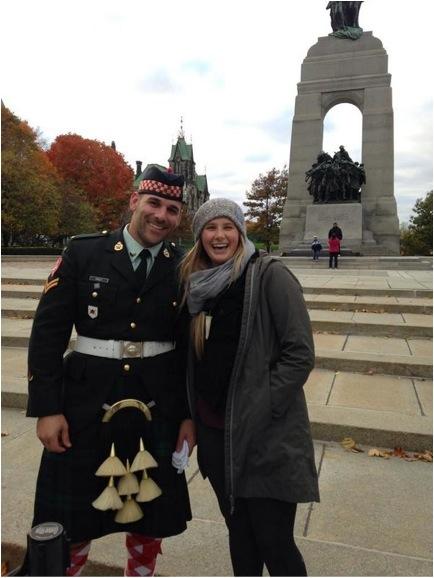 Meurtre tragique du jeune réserviste canadien Nathan Cirillo