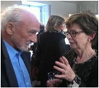Monik Barbeau et Yvon Deschamps (photo Monique Rondeau)
