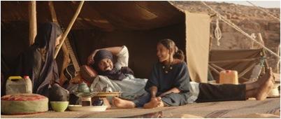 """Une scène du film mauritanien et français d'Abderrahmane Sissako, """"Timbuktu""""."""