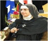 Mère Agnès-Mariam de la Croix à Montréal en novembre 2013