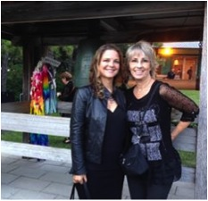Guylaine Maroist et Judi Richards en ce 5 août 2015