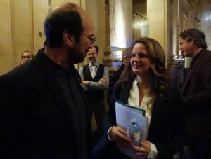 Michel Rivard et Guylaine Maroist