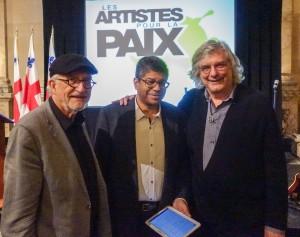 Jean-Daniel Lafond, Stanley Péan et Pierre Jasmin