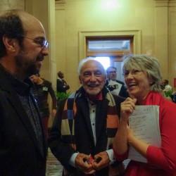 Michel Rivard, Yvon Deschamps et Judi Richards
