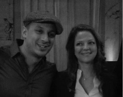 Samian, APLP de l'année et Guylaine Maroist, présidente des APLP