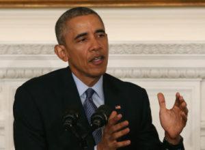 Barack Obama en février 2016. Photo Mark Wilson/Getty Images)
