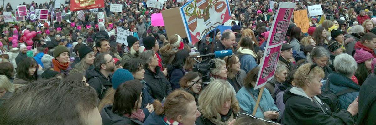 Les APLP au rassemblement des femmes le 21 janvier