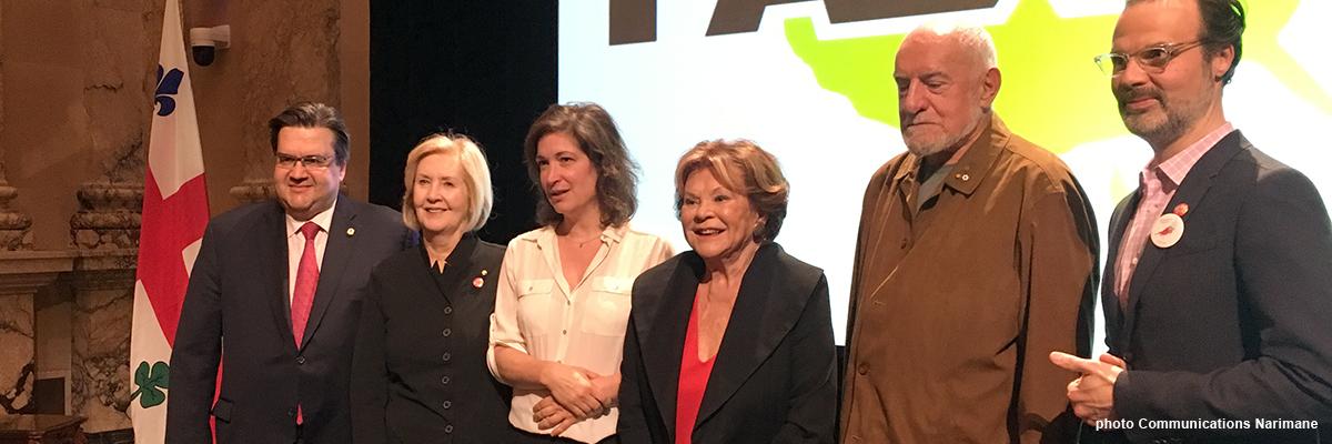 Trois artistes honorés par les APLP