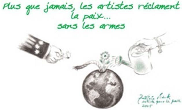 Une œuvre de feu Frédéric Back (1924-2013), deux fois oscarisé, Artiste pour la paix (hommage 2010).