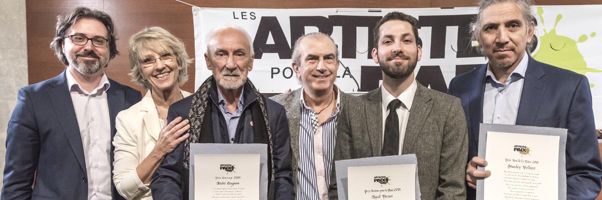 Aquil Virani, André Gagnon et Stanley Vollant honorés par les APLP