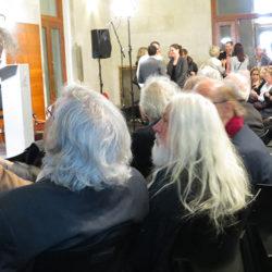 Serge Lavoie salue Armand Vaillancourt