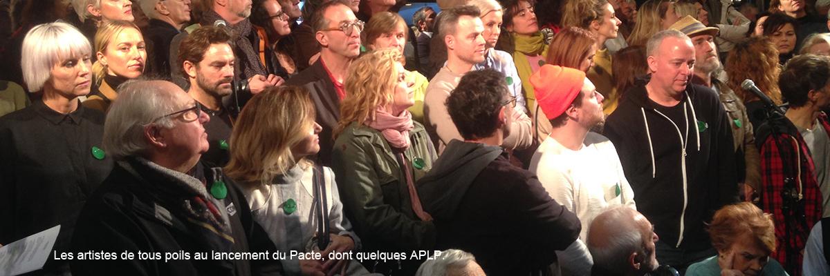 Les APLP vous invitent à signer le Pacte pour la transition