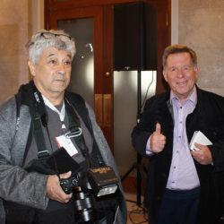 Rodger Brulotte et son photographe