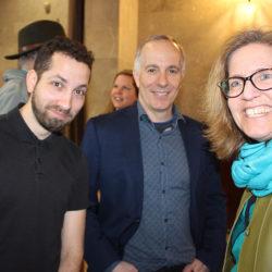 Aquil Virani, APLP 2018, et Brian Bronfman