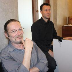 Christian Morin et James Pretli