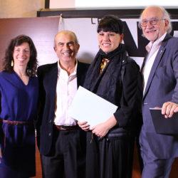 Marie-Josée Parent, André Michel, Nathalie Bondil et Jean-Daniel Lafond.