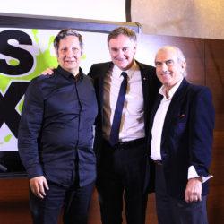 Robert Lepage, Yves Jacques et André Michel