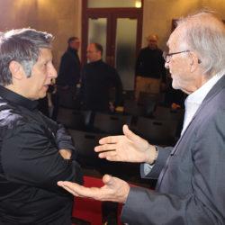 Robert Lepage et Jean-Daniel Lafond