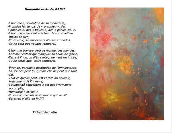 Poème pour la Paix_Richard Paquette